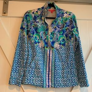 Lilly Pulitzer Sirens and Spirits Popover, Size XS